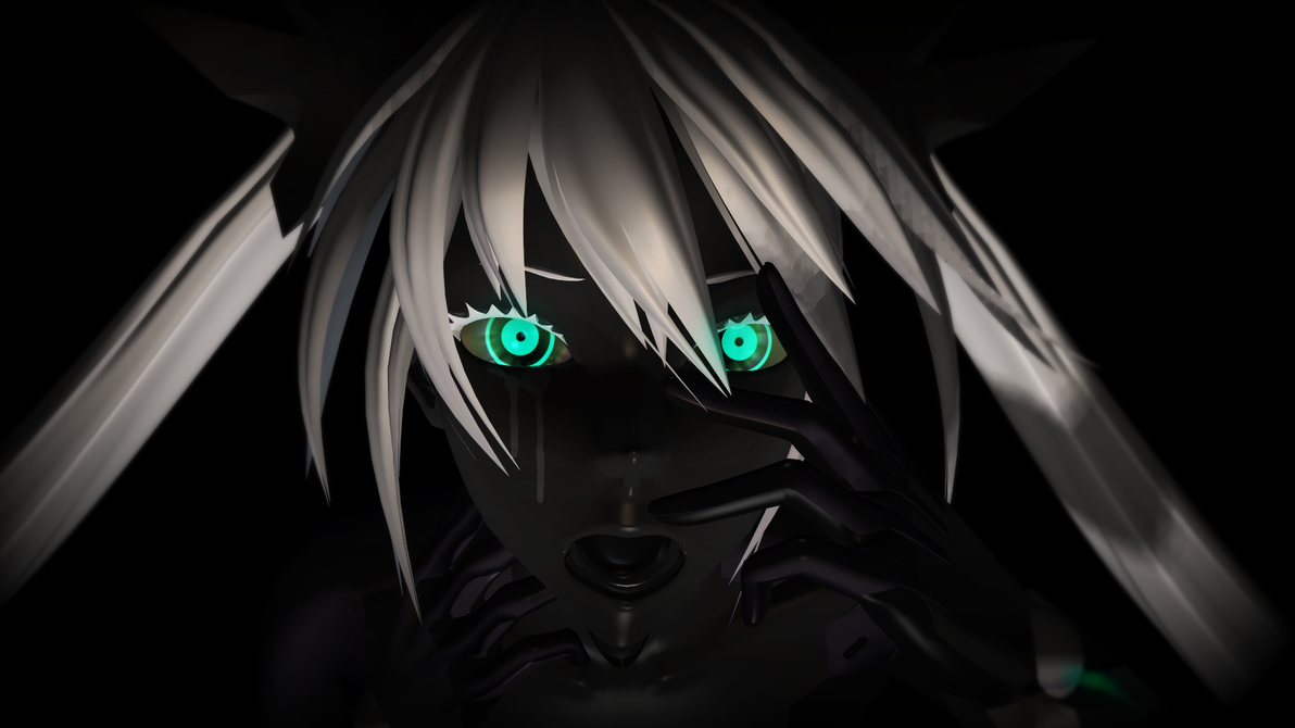 Carbon Black Miku by ArisuIdzuri