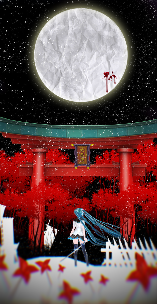 Paper moon by ArisuIdzuri