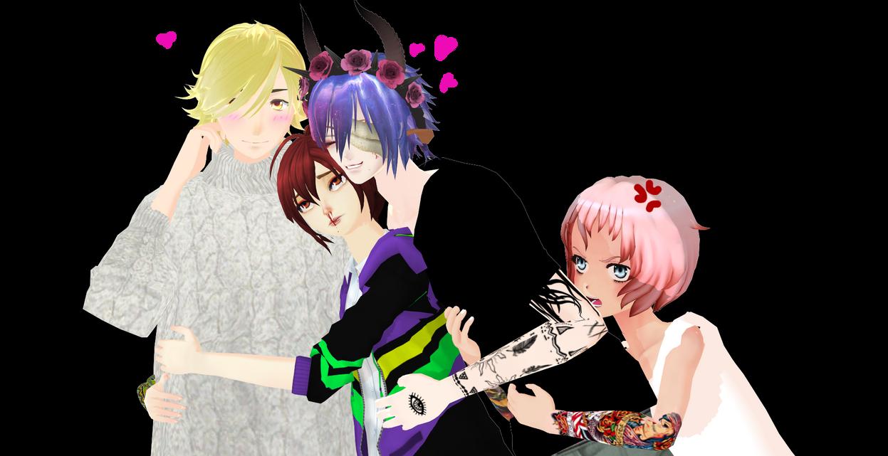 Hugs by ArisuIdzuri