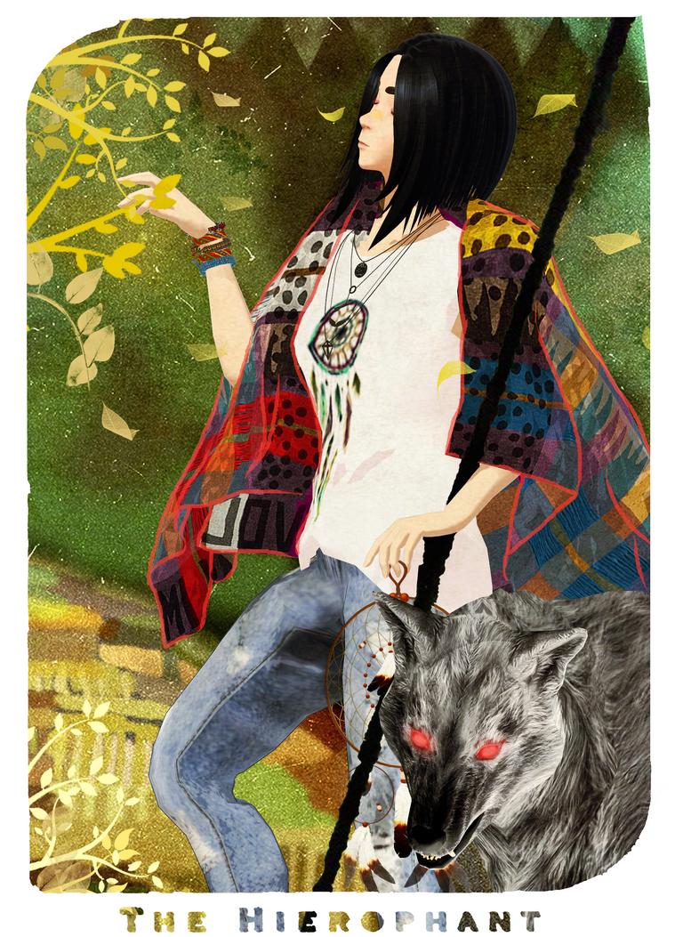 V The Hierophant by ArisuIdzuri