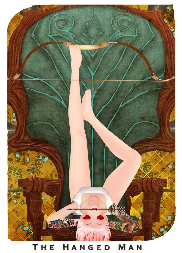 XII The Hanged man by ArisuIdzuri