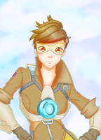 Tracer - Overwatch by russo9999