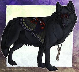 Shaoilin Wolf Kaho by Dunewolf