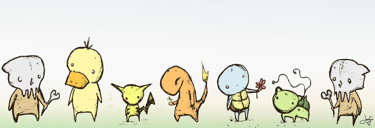 PokeCritters by joegogo