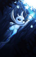 Ori and the blind forest by Aelini