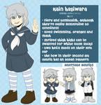 kain hagiwara reference sheet