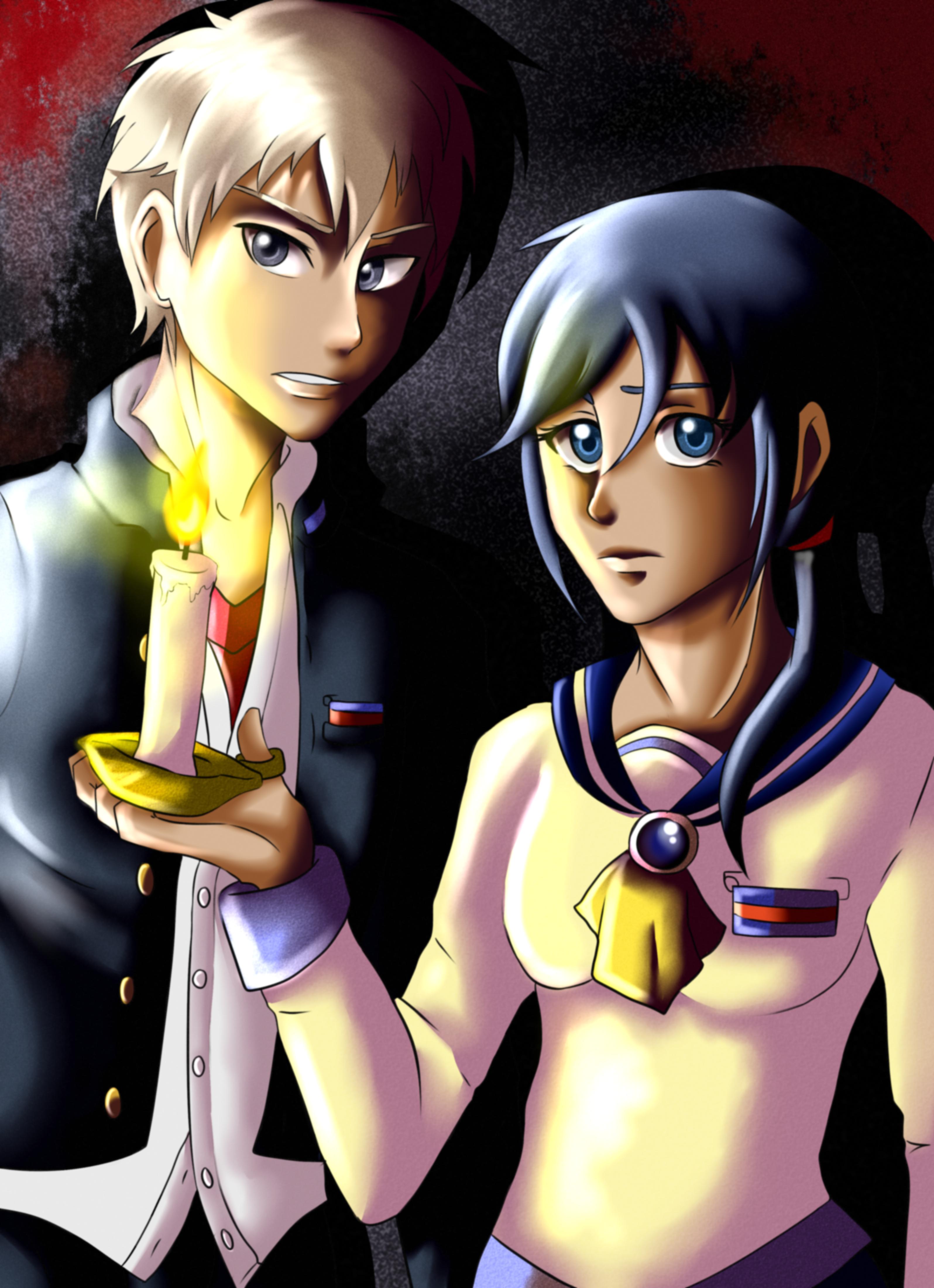 Corpse party ayumi and yoshiki by x1yummy1x on deviantart