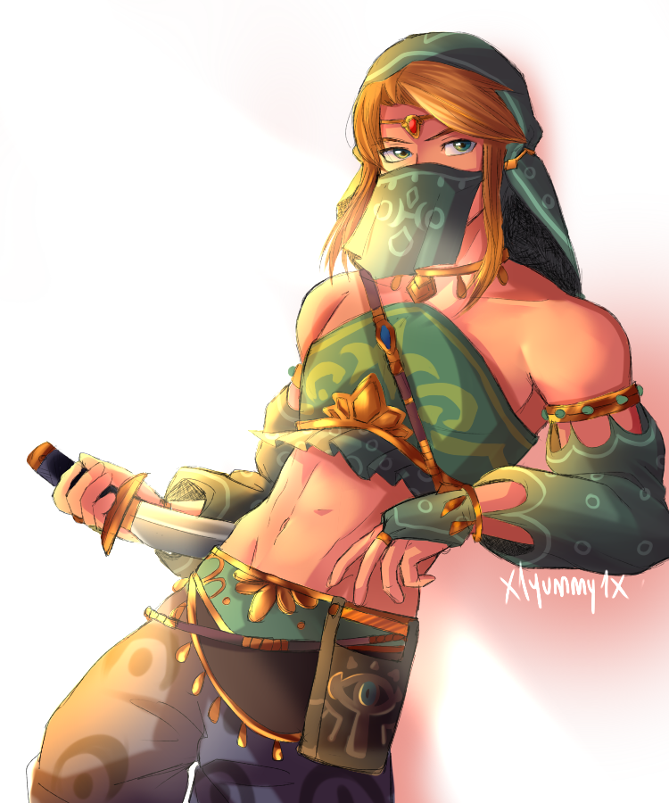 Link Gerudo Outfit By X1yummy1x On Deviantart