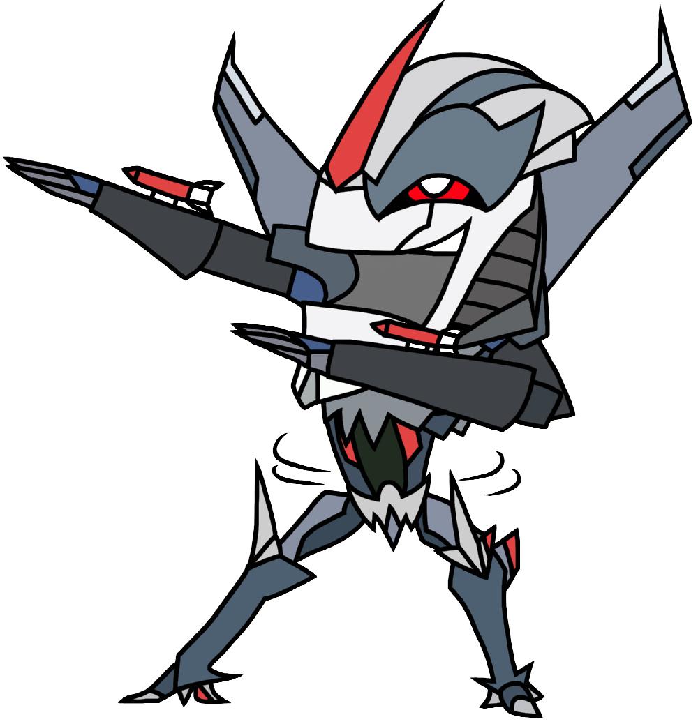 Starscream dance (transformers: - 334.1KB