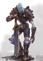 Forsaken-Warrior-Stergart2 by lynadeathshaow