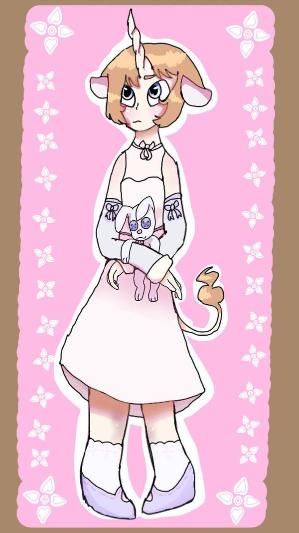 A very girly drawing :3 by xxXMysticPoptartXxx