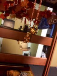 Teacup Necklace
