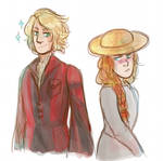Howl and Sophie Book version