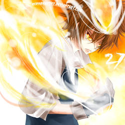 KHR : Hyper mode Tsuna by Shumijin