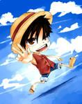 Chibi Luffy :D by Shumijin