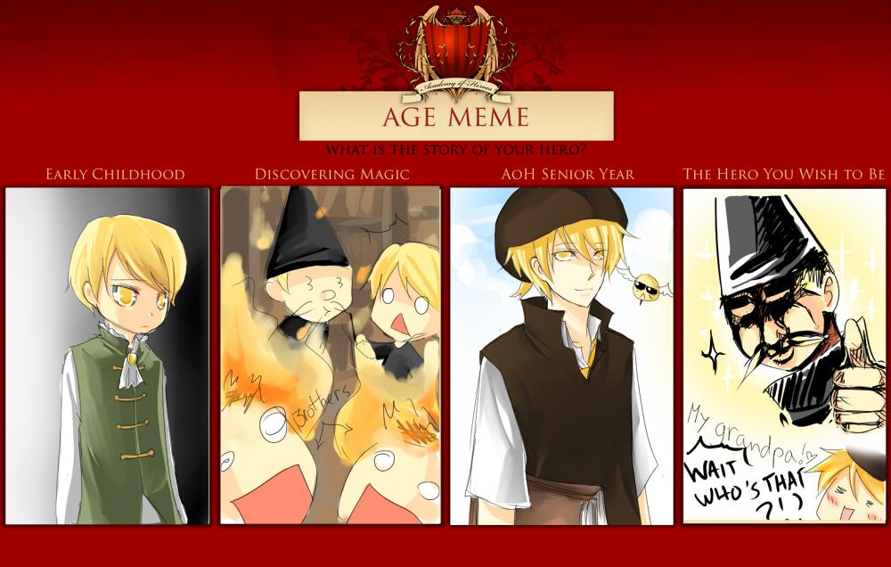 AoH : Age meme by Shumijin