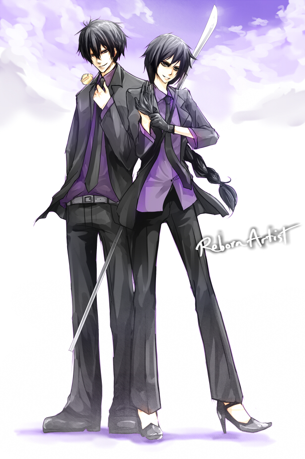 Commission TYL Hibari and Aya by Shumijin