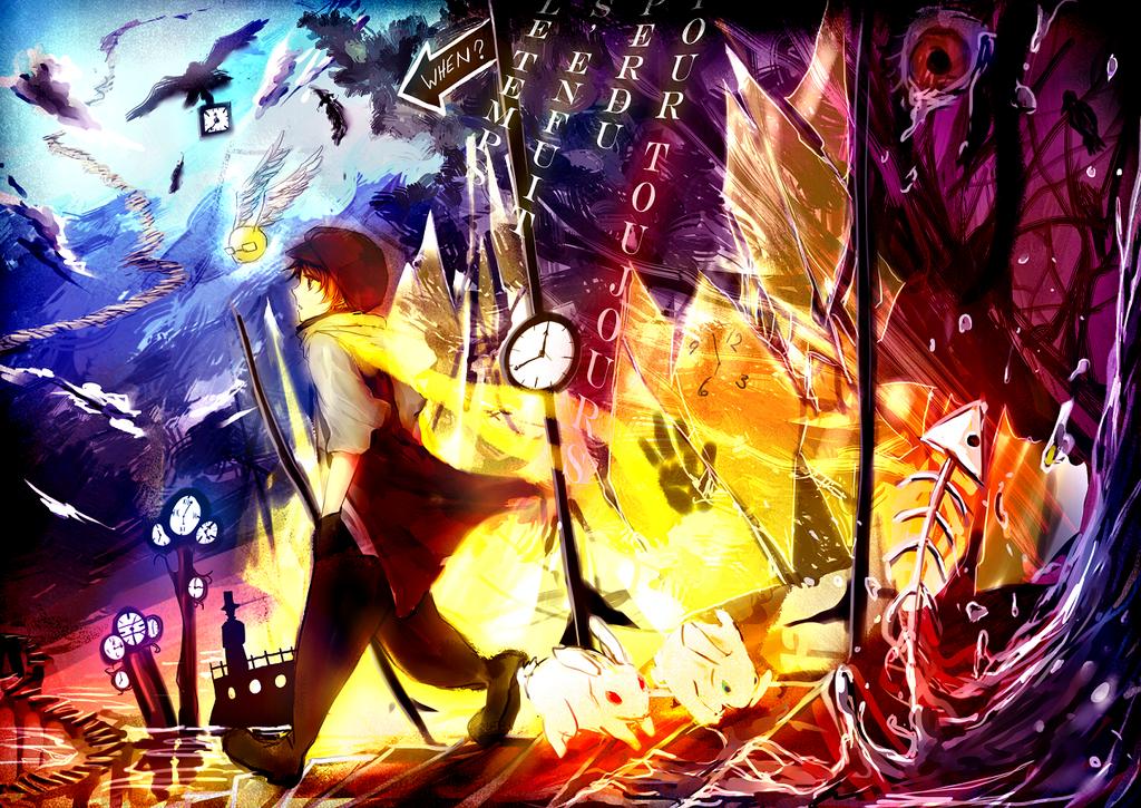 Le Temps s'enfuit by Shumijin