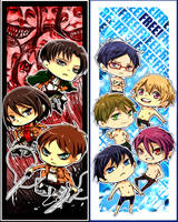 SnK and Free! by Shumijin