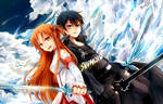 Sword Art Online - Asuna and Kirito