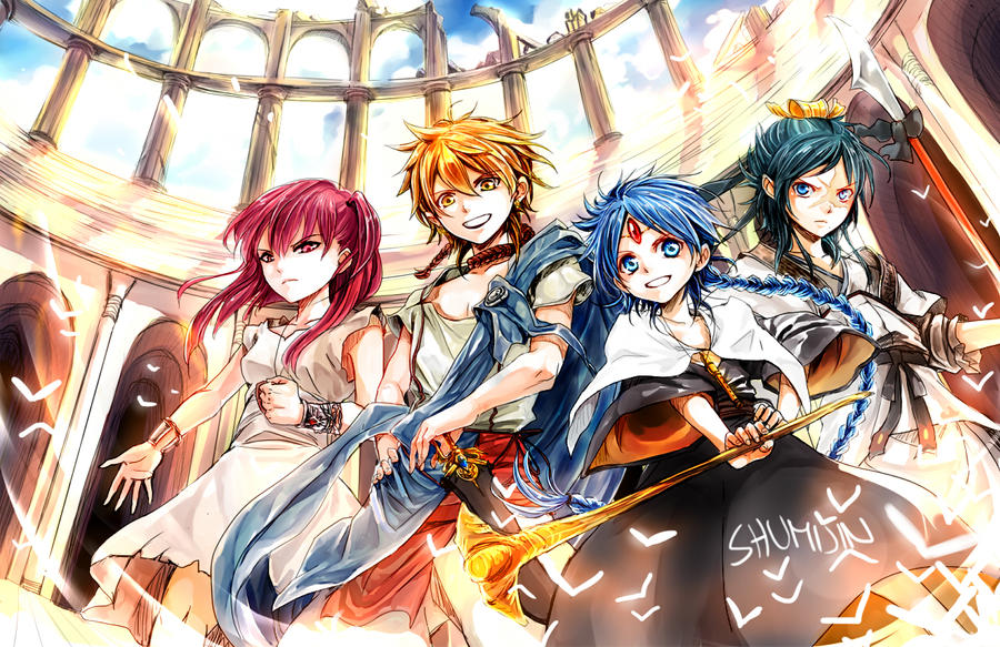 MAGI: The Labyrinth Of Magic By Shumijin On DeviantArt