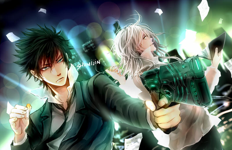 PSYCHO-PASS by Shumijin