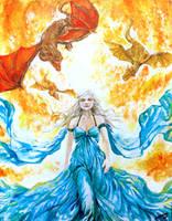 GoT Daenerys Targaryen - Conqueress by Shumijin