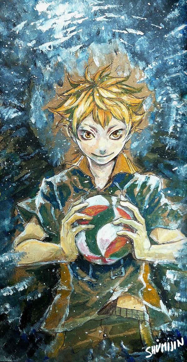 Haikyuu - Hinata Shouyou by Shumijin