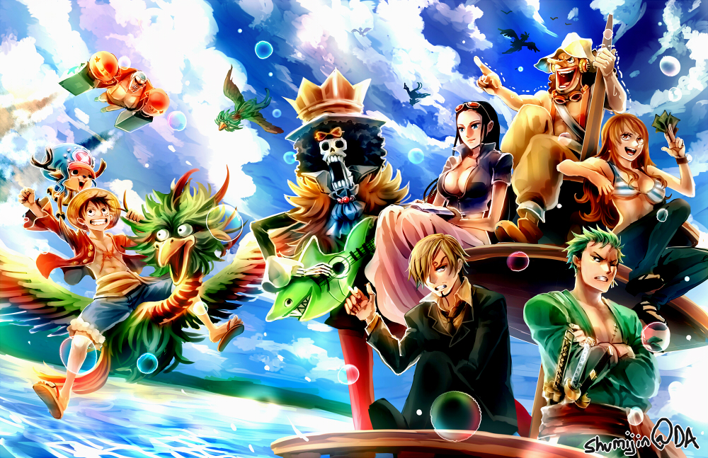 one piece two years later by shumijin on deviantart
