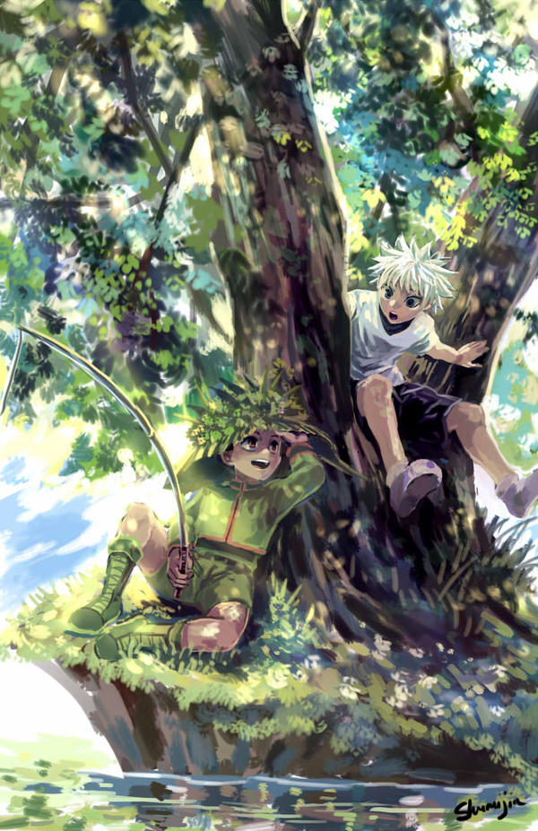 Hunter X Hunter - Fishing