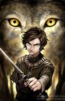 Arya Stark - GoT by Shumijin