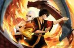 Avatar Aang and Zuko