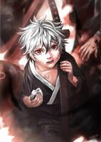 Gintama - Gintoki Sakata ''Corpse Eating Demon'' by Shumijin