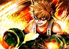 Bakugou - Boku no Hero Academia by Shumijin
