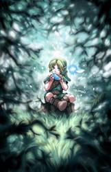 Young Link - Legend of Zelda by Shumijin