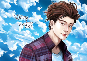 Commission: SUPER JUNIOR - Donghae by Shumijin