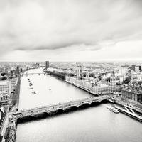 London Skyline by xMEGALOPOLISx