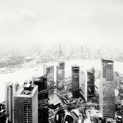 Shanghai Puxi Haze by xMEGALOPOLISx