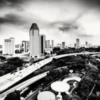 Singapore Skyline II by xMEGALOPOLISx