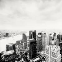 Shanghai Skyline by xMEGALOPOLISx
