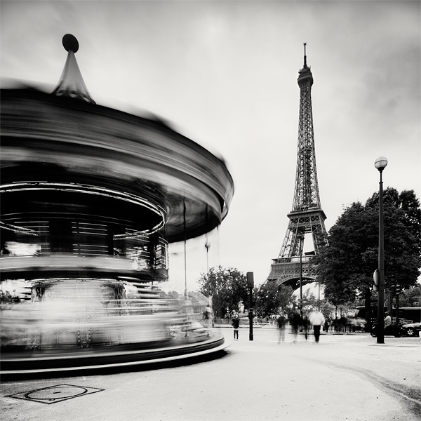 Paris - Eiffel Tower II by xMEGALOPOLISx