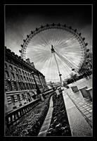 London Eye... by xMEGALOPOLISx