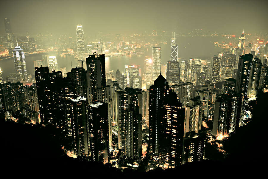 Hong Kong - The Peak by xMEGALOPOLISx