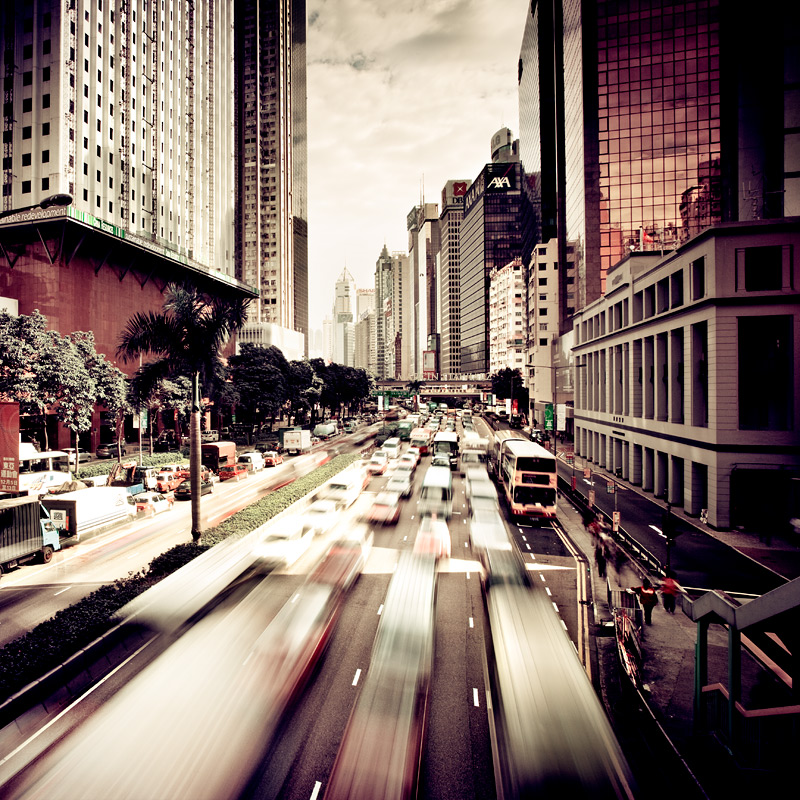 Hong Kong Rush Hour by xMEGALOPOLISx