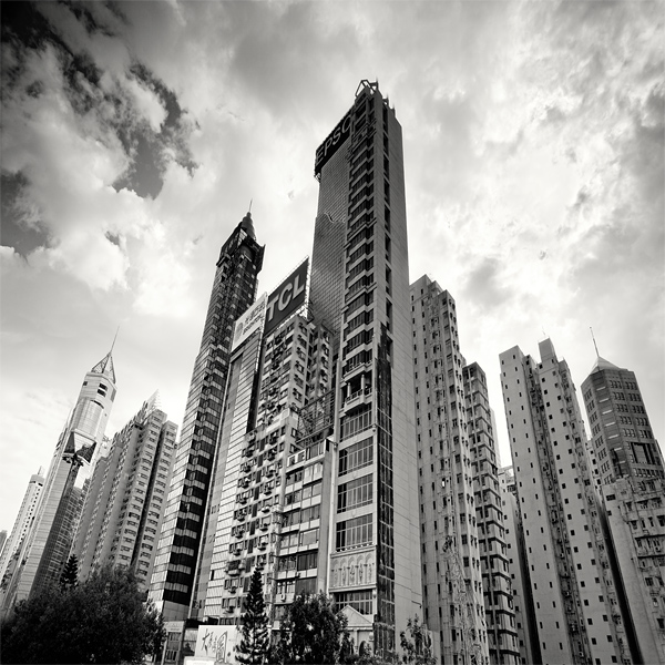 Hong Kong Skyscrapers by xMEGALOPOLISx