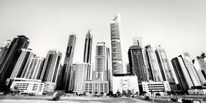 Sheikh Zayed Skyscrapers Dubai