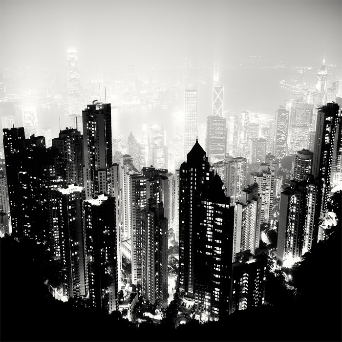 Hong kong gotham city by xmegalopolisx