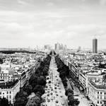 Paris Skyline La Defense