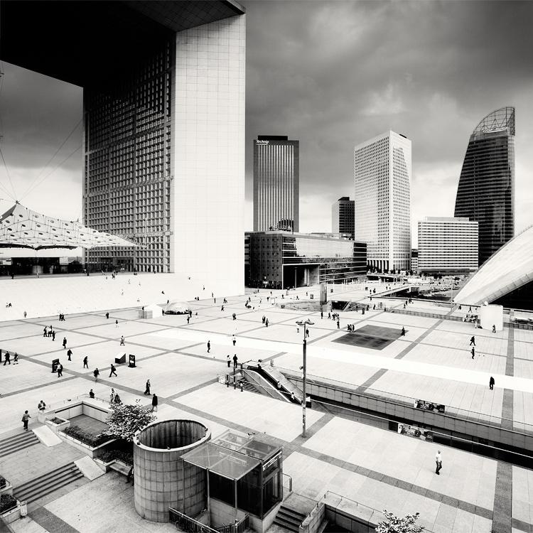 Paris - La Defense by xMEGALOPOLISx