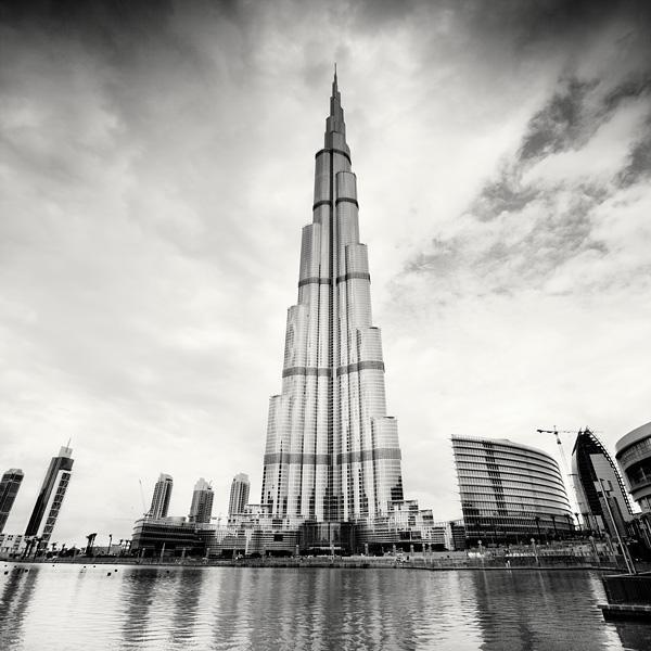 Dubai Burj Khalifa by xMEGALOPOLISx